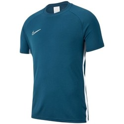 Clothing Boy short-sleeved t-shirts Nike JR Academy 19 Navy blue