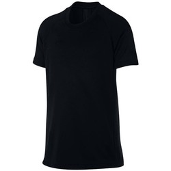Clothing Boy Short-sleeved t-shirts Nike JR Dry Academy Top Black