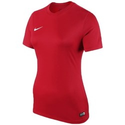 Clothing Women short-sleeved t-shirts Nike Park Red