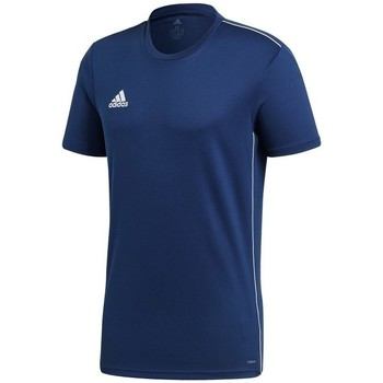 Clothing Men short-sleeved t-shirts adidas Originals Core 18 Navy blue
