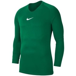 Clothing Men Long sleeved tee-shirts Nike Dry Park First Layer Green