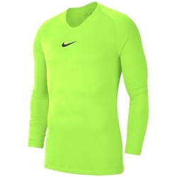 Clothing Men Long sleeved tee-shirts Nike Dry Park First Layer Celadon