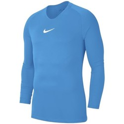 Clothing Men Long sleeved tee-shirts Nike Dry Park First Layer Blue