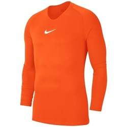 Clothing Men Long sleeved tee-shirts Nike Dry Park First Layer Orange
