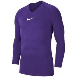 Clothing Men Long sleeved tee-shirts Nike Dry Park First Layer Violet