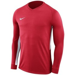 Clothing Men Long sleeved tee-shirts Nike Dry Tiempo Prem Jersey Red