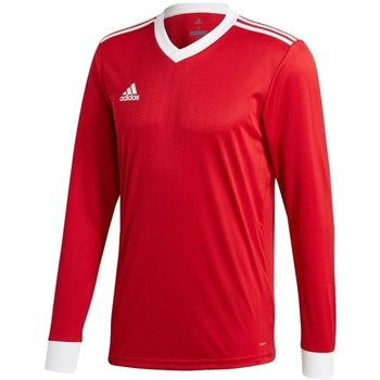 Clothing Men Long sleeved tee-shirts adidas Originals Tabela 18 Red