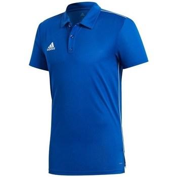 Clothing Men short-sleeved polo shirts adidas Originals Core 18 Navy blue