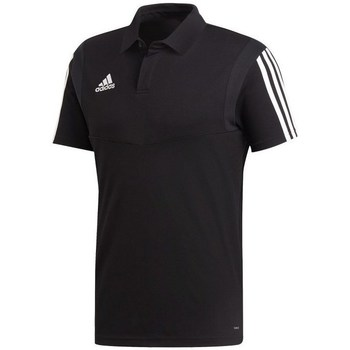 Clothing Men short-sleeved polo shirts adidas Originals Tiro 19 Black