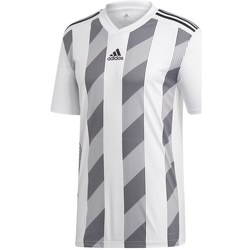 Clothing Men Short-sleeved t-shirts adidas Originals Striped 19 White, Grey