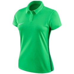 Clothing Women Short-sleeved polo shirts Nike Dry Academy 18 Green