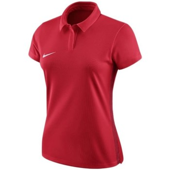 Clothing Women Short-sleeved polo shirts Nike Dry Academy 18 Red