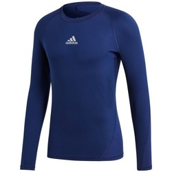 Clothing Men Long sleeved tee-shirts adidas Originals Baselayer Alphaskin Navy blue
