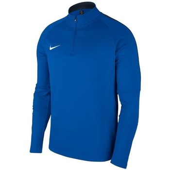 Clothing Boy Track tops Nike JR Dry Academy 18 Dril Top Blue