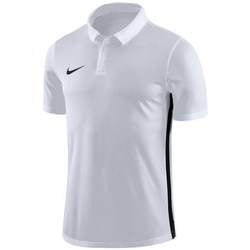 Clothing Men Short-sleeved polo shirts Nike Dry Academy 18 White