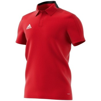 Clothing Men short-sleeved polo shirts adidas Originals Condivo 18 Polo Red