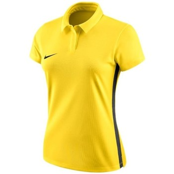 Clothing Women short-sleeved polo shirts Nike Womens Dry Academy 18 Polo Yellow