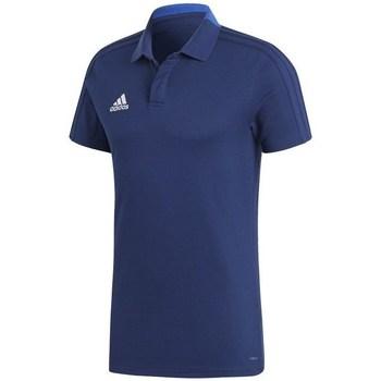 Clothing Men short-sleeved polo shirts adidas Originals Condivo 18 Polo Blue