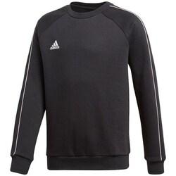 Clothing Boy Sweaters adidas Originals JR Core 18 Black