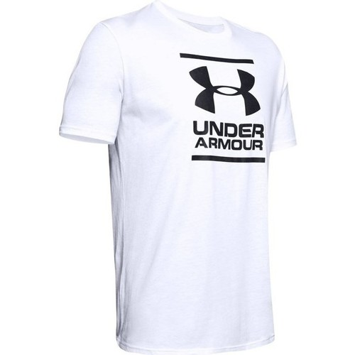 Clothing Men Short-sleeved t-shirts Under Armour GL Foundation SS White