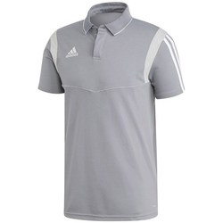 Clothing Men Short-sleeved polo shirts adidas Originals Tiro 19 Grey