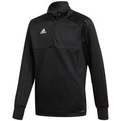 Clothing Boy Track tops adidas Originals JR Condivo 18 Black