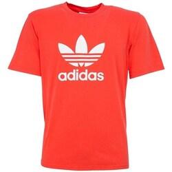 Clothing Men Short-sleeved t-shirts adidas Originals Trefoi Red