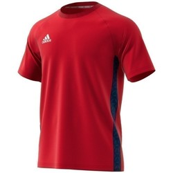 Clothing Men short-sleeved t-shirts adidas Originals Tango Tape Tee Red