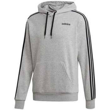 Clothing Men sweaters adidas Originals Essentials 3 Stripes PO FZ French Terry Grey
