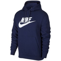 Clothing Men Sweaters Nike Nsw Club Hoodie GX Navy blue