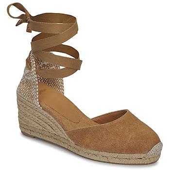Shoes Women Sandals Castaner CARINA Camel