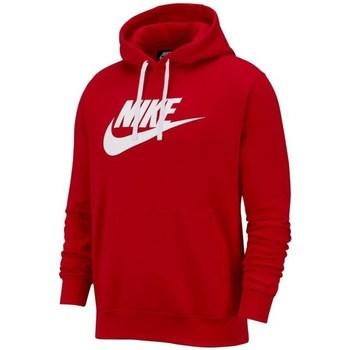 Clothing Men sweaters Nike Club Hoodie Red