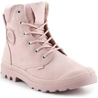 Shoes Women Mid boots Palladium Pampa Sport Pink