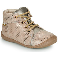 Shoes Girl Mid boots GBB OLSA Beige