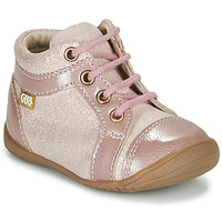 Shoes Girl Hi top trainers GBB OMANE CVN ROSE DPF/KEZIA