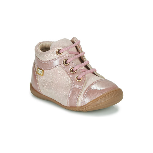 Shoes Girl Mid boots GBB OMANE Pink