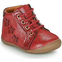 Shoes Girl Hi top trainers GBB DAVIA VTV ROUGE-ARGENT DPF/KEZIA