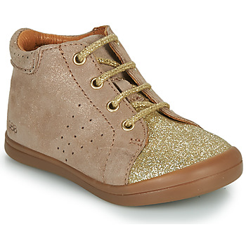Shoes Girl Mid boots GBB NAHIA Beige
