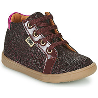 Shoes Girl Hi top trainers GBB FAMIA VTV BORDO ROSE DPF/MESSI
