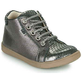 Shoes Girl Hi top trainers GBB FAMIA VTE PLOMB-ARGENT DPF/MESSI