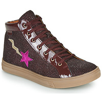 Shoes Girl Hi top trainers GBB TADEA Bordeaux