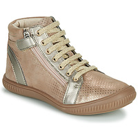 Shoes Girl Hi top trainers GBB RACHIDA Beige