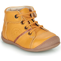 Shoes Boy Mid boots GBB OULOU Yellow