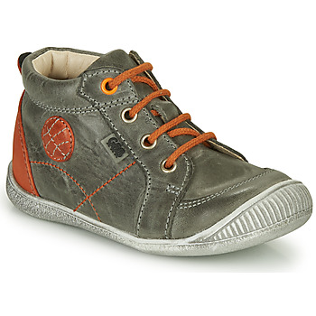 Shoes Boy Mid boots GBB OLAN Grey