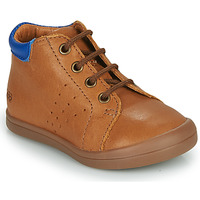 Shoes Boy Hi top trainers GBB TIDO VTE CAMEL DPF/TOODOU