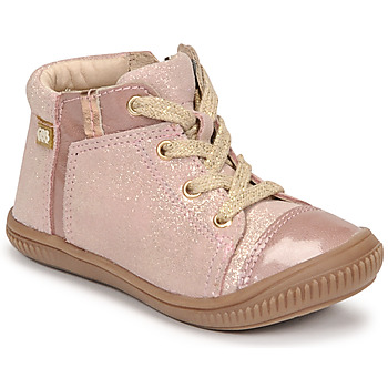 Shoes Girl Hi top trainers GBB OUNA Pink