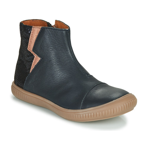 Shoes Girl Mid boots GBB SAVERIA Marine / Pink