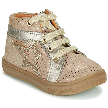 Shoes Girl Hi top trainers GBB NAVETTE Beige