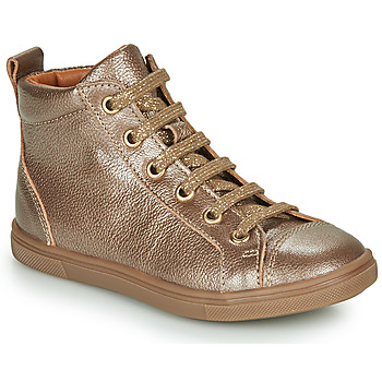 Shoes Girl Hi top trainers GBB INNA Gold