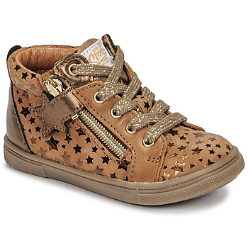 Shoes Girl Hi top trainers GBB VALA Brown
